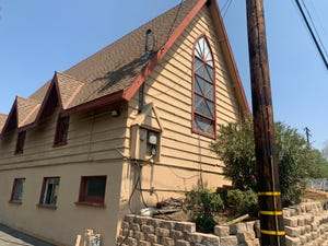 A former church at 95 N. Oakview Drive in Thousand Oaks is being renovated to become Manna Conejo Valley Food Bank's new facility.