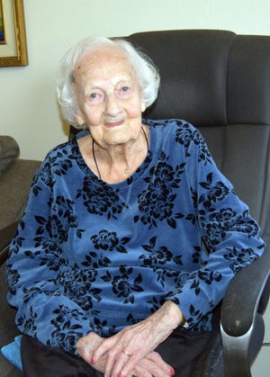 Longtime Bowie resident Jean Angove is celebrating her 100th birthday.