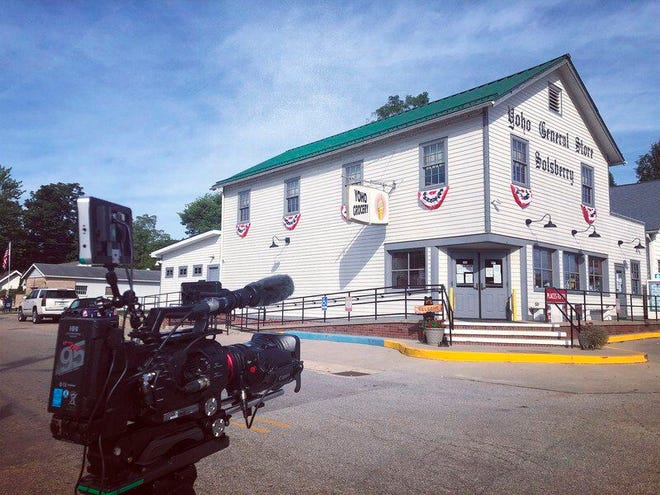 """The restored 1934-era Yoho General Store sits at the corner of Ind. 43 and Tulip Road near Solsberry. It's included in """"Spirit of Greene County,"""" a new documentary to be aired at 8 p.m. Monday on WTIU."""