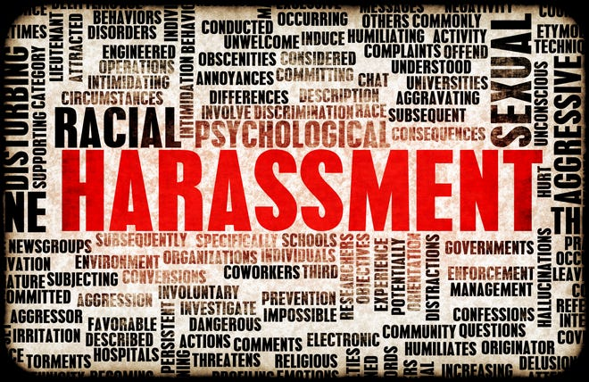 Harassment in its many forms and types.