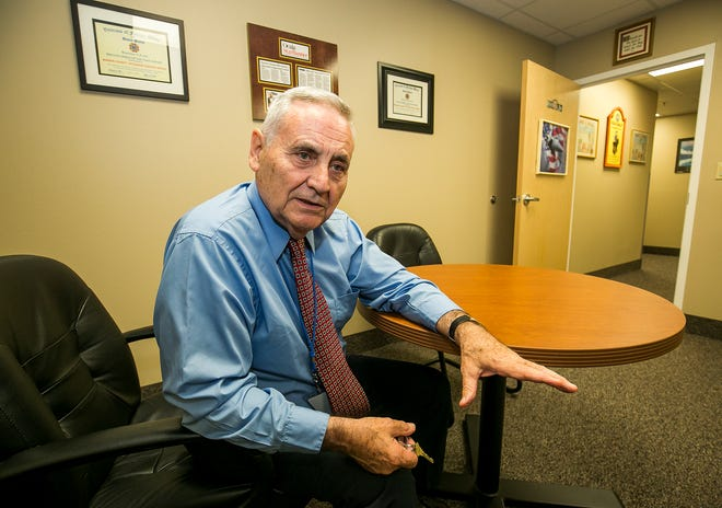 Hank Whittier, executive director of Veterans Helping Veterans, pictured in 2017, is concerned that officials who make financial decisions may believe the worst need caused by the COVID-19 pandemic has passed.