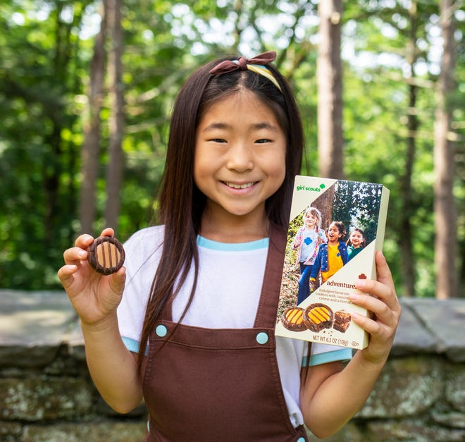 The new Adventurefuls cookie will join the nationwide lineup for the 2022 Girl Scout Cookie season.