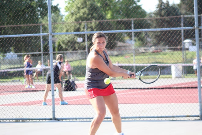 Anna Vogt and the Shelby Whippets improved to 9-0 last week.