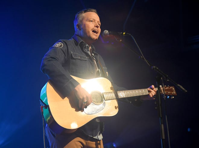 Jason Isbell performs during To Nashville, With Love A Concert Benefiting Local Tornado Relief Efforts at Marathon Music Works on March 9, 2020, in Nashville, Tennessee. (Jason Kempin/Getty Images/TNS)