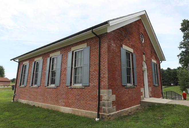 The Lichtenwalter Historic Schoolhouse has been restored in Boettler Park in Green following a fire set in 2016.