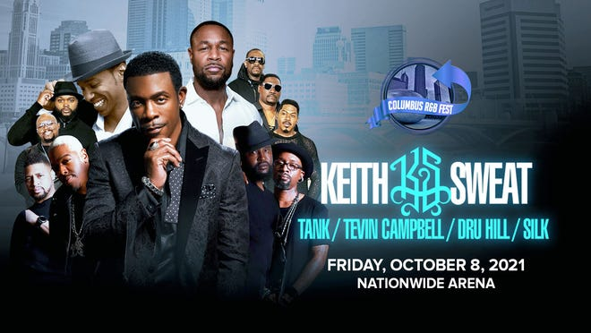 This year's Columbus R&B Fest will feature astar-studded lineup of chart-topping acts from the genre's golden era.