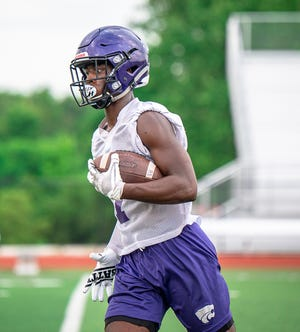 Blue Springs receiver Dalesean Staley has verbally committed to FCS Northern Iowa prior to his senior season.