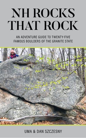 Author Dan Szczesny will be presenting a virtual event on 25 famous boulders found around the Granite State on Aug. 25 virtually.