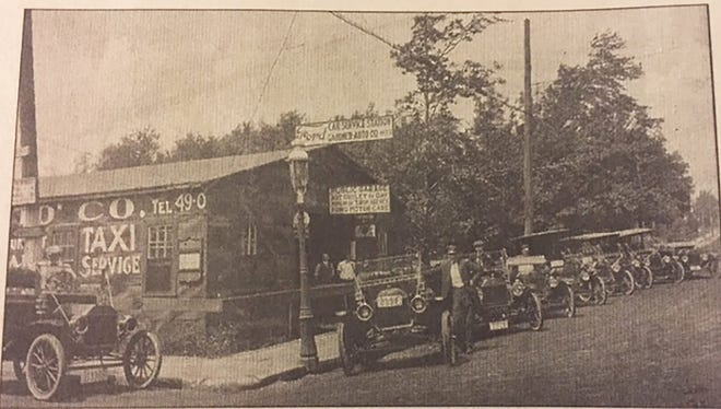 Gardner Auto Sales at 578 Main St. is shown in the early 1900s.