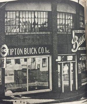 The former Tipton Buick Sales on Main Street in Gardner.
