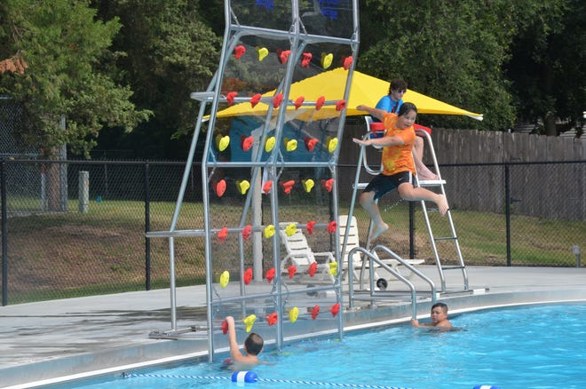 The City of Newton hosted a grand opening of the Newton Municipal Pool on Aug. 14, marking the completion of a project to rebuild the facility in Athletic Park.