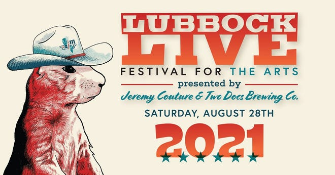 The first-ever Lubbock Live Festival For The Arts is scheduled for 10 a.m. to 11 p.m. on Saturday, Aug. 28, at the Louise Hopkins Underwood Center for the Arts Plaza, 511 Ave. K.