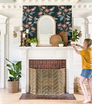 Whether you wallpaper an entire room, create an accent wall or revamp a piece of furniture, adding style and personality to your interior spaces can be easy with this impactful DIY project.