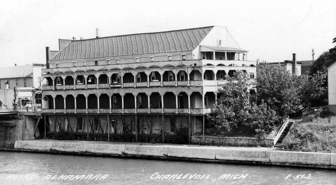 Hotel Alhambra, created 1921