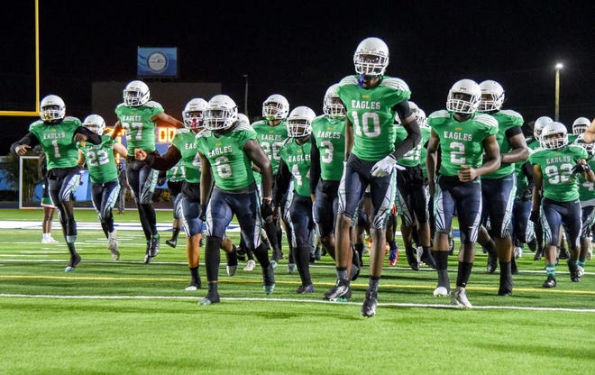 Atlantic defeated the Plantation Colonels 44-6 in the Class 7A Gold Bracket championship game of the tri-county playoffs in Miami last December to end a season plagued by COVID-19.
