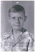 This a picture of Earlat eleven years old in 1948.It was the year Joe Louis retired and Babe Ruth died.(Photo courtesy of Phelps County Senior Companion Program)
