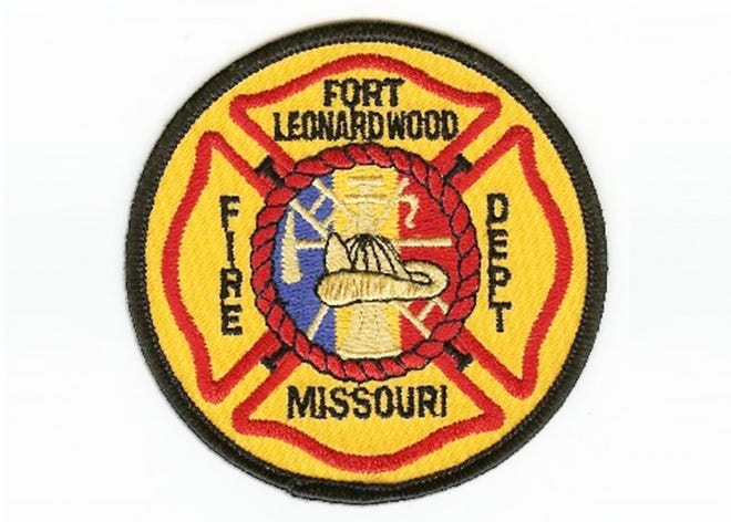 Fort Leonard Wood Fire Department patch. U.S. Army image