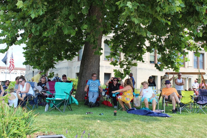 The annual REV20 Christian Music Festival was held on the courthouse square in downtown Spencer recently, drawing a crowd of festival-goers. More photos from the event are featured in today's SEW.