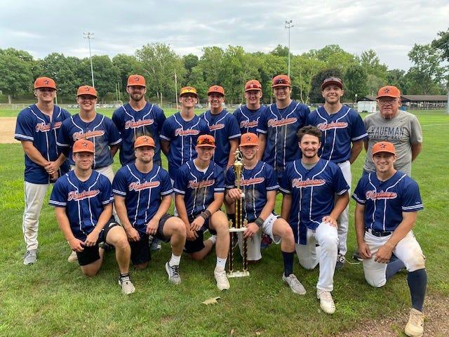 Kaufman Realty won the Class A Baseball League Tournament title Sunday.