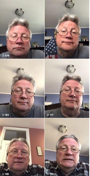 Joe Fusco Jr. tells dad jokes on TikTok.
