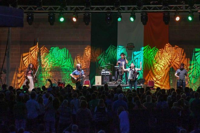Gaelic Storm, shown here at Oshkosh Irish Fest in 2016, will headline the inaugural Irish Fest of the Fox Cities in September.