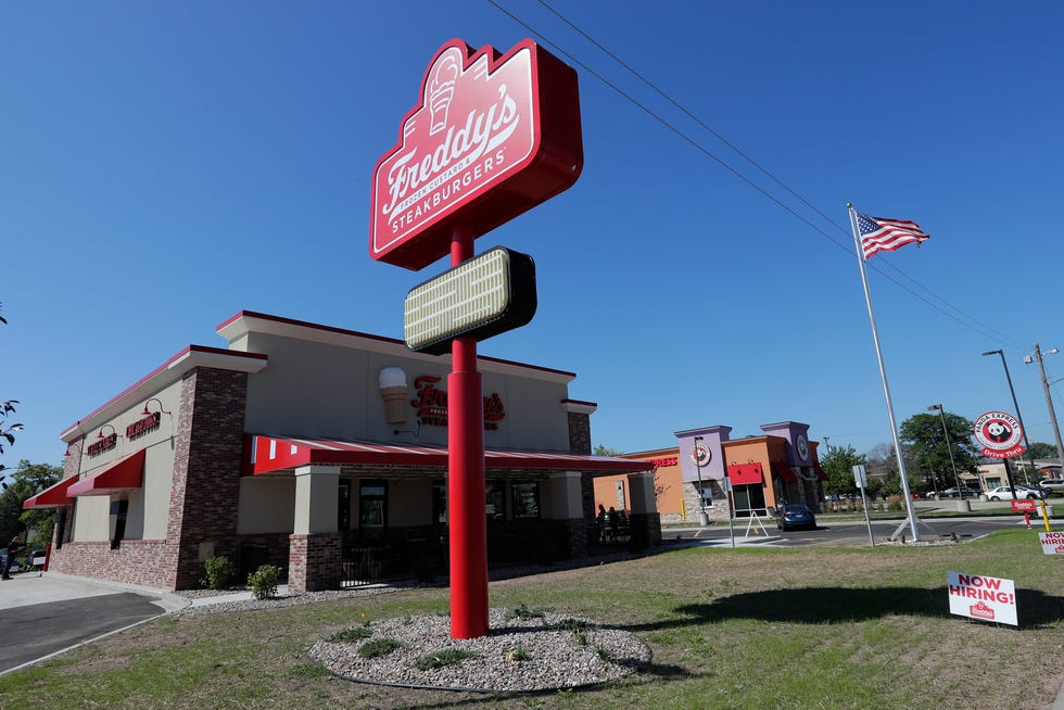 A Freddy's Frozen Custard & Steakburgers restaurant in Appleton, Wis.