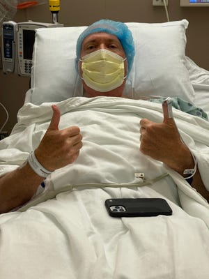 Tom Griswold, host of the Bob & Tom Show, is recovering from surgery.