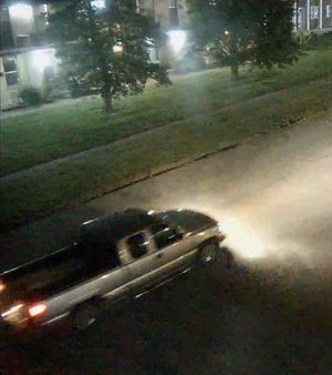 Louisville Metro Police is asking for the community's help identifying this truck and its occupants in connection with the killing of Jefferson County Sheriff's Deputy Brandon Shirley.