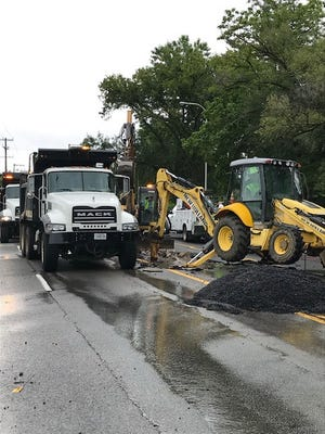 A water main break cut off supply to the Ascension Saint Thomas West hospital campus on Monday, postponing surgeries and procedures for the day.