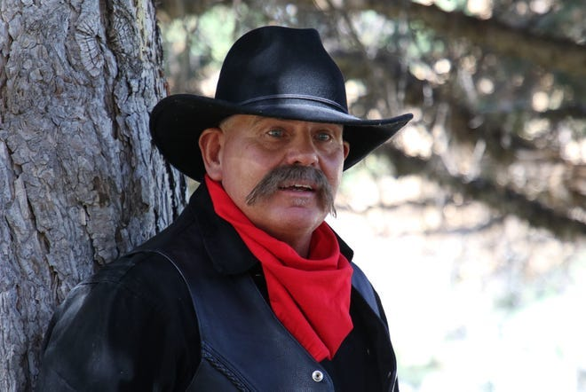 Tony DiGiacomo portrays outlaw Ike Stockton during the 2019 edition of Dining with the Dead, a role he will reprise for this year's event in September.