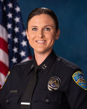 Capt. Melissa Desmarais will serve as acting chief of the Palm Springs Police Department.