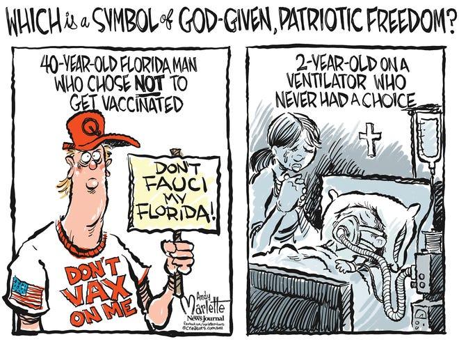Marlette cartoon: Freedom of choice?