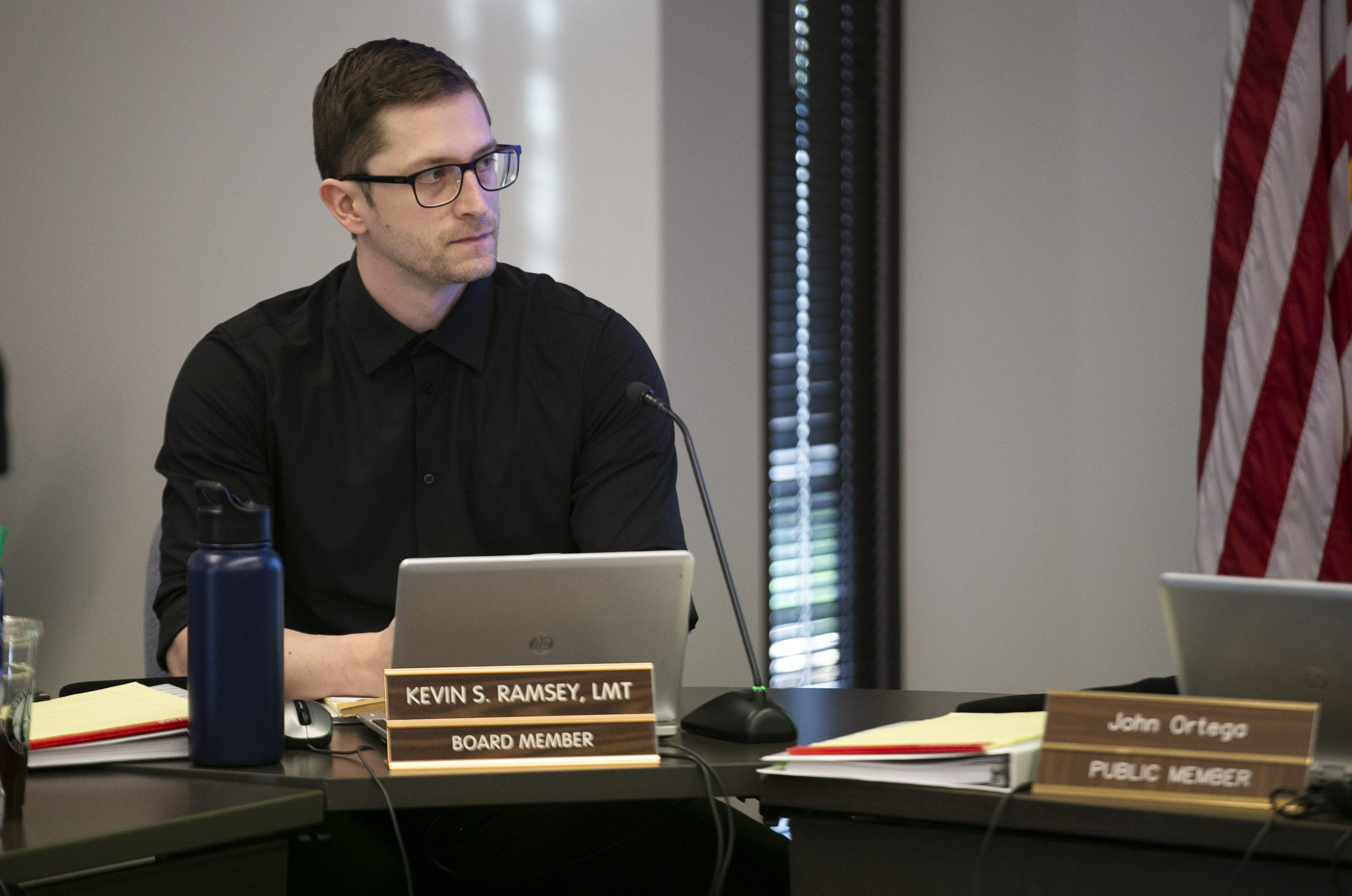 Kevin Ramsey, a board member of the Arizona State Board of Massage Therapy, resigned in June 2021 after being questioned by The Arizona Republic about his votes related to Massage Envy therapists.