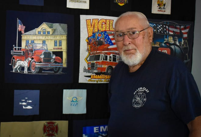 Ron Cashen has served the Genoa area as a volunteer firemen for 63 years.