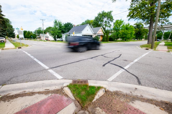 The city is turning the intersection of Stone and Harker streets into a four-way stop.