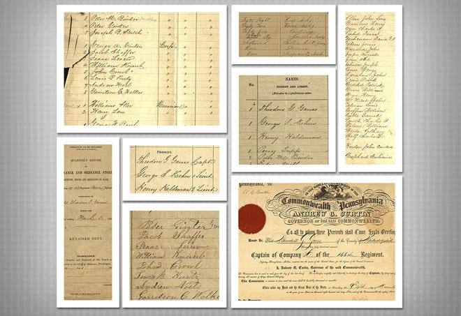 The new records recently donatedcontains a commissioning certificate, muster rolls from October 1862 through July 1863, ordnance reports, requisitionsand papers related to the disbanding of the unit, according to the news release.