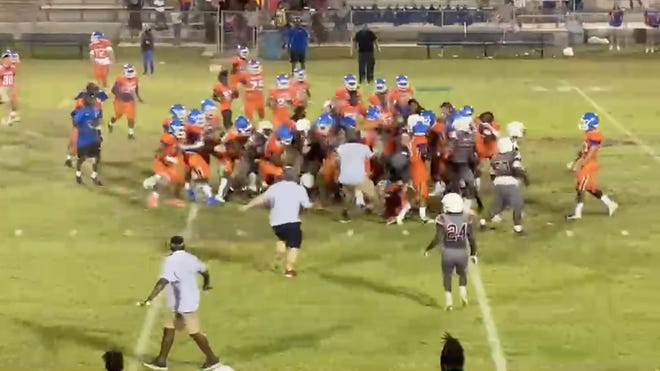 Multiple sanctions have been handed down by the FHSAA to players in both the Madison County and Taylor County football programs following a brawl that occurred between the two teams during a game on May 21, 2021.