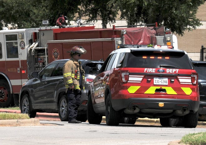 Police and fire teams responded Monday around noon to a possible bomb threat at Rider High School. This is the third school day in a row that there have been bomb threats at WFISD schools.