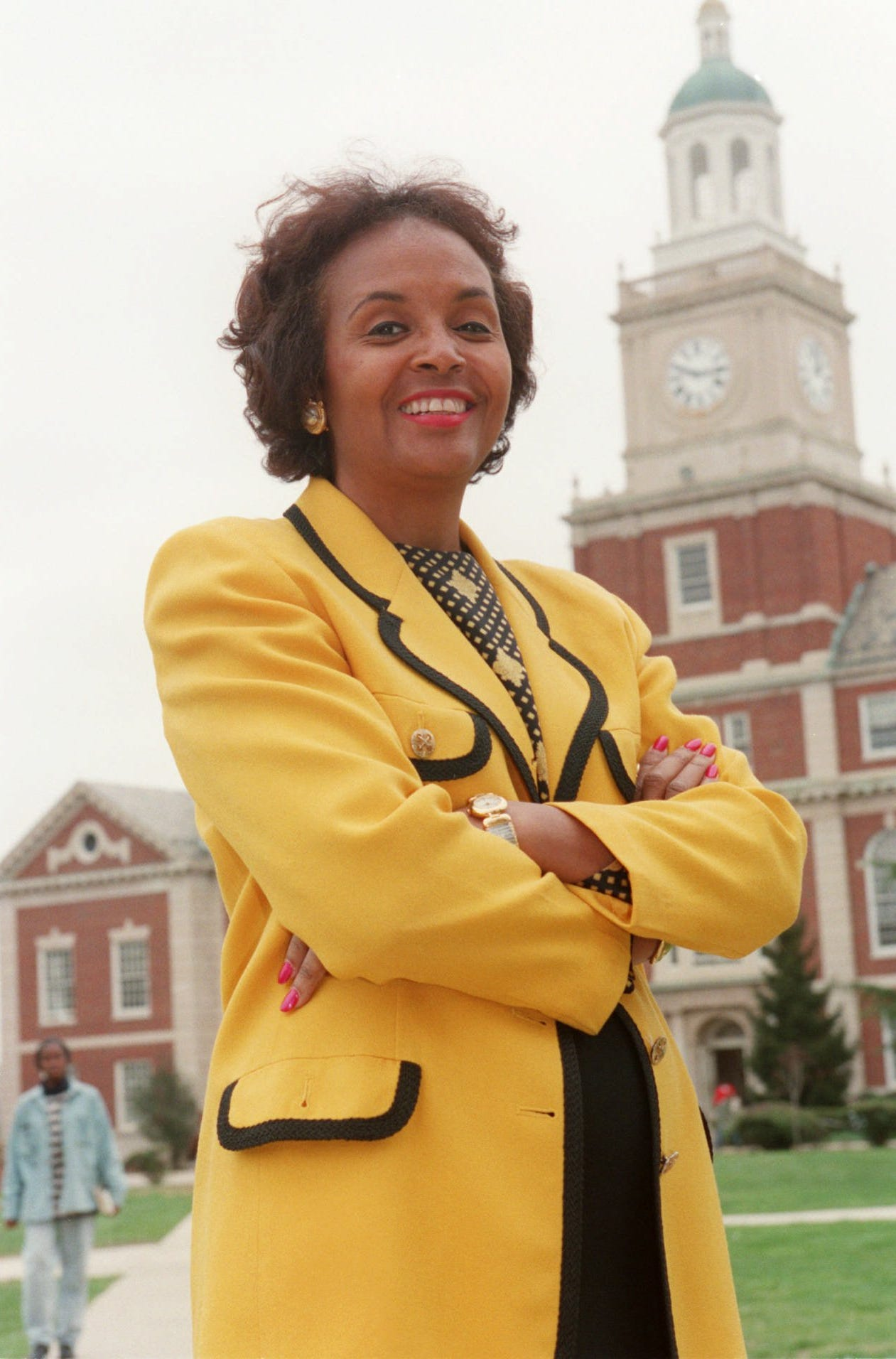 Joyce Ladner is a civil rights movement veteran and former president of Howard University in Washington, D.C.