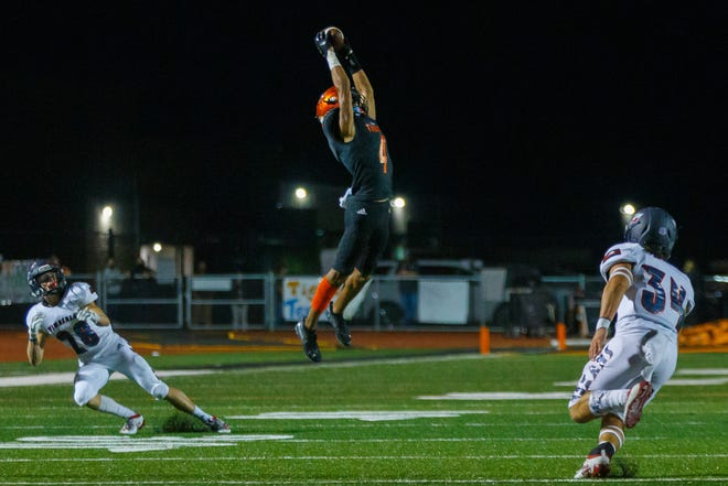 Smithville wide receiver Charles Hodge IV and the Tigers impressed with a 38-24 win over San Antonio Highlands last week.