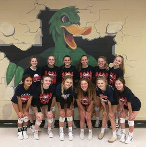 The Round Rock Christian Academy volleyball team won the Florence tournament this past weekend to remain unbeaten on the season.