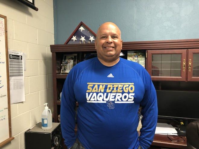 San Diego head football coach/athletic director Bo Ochoa