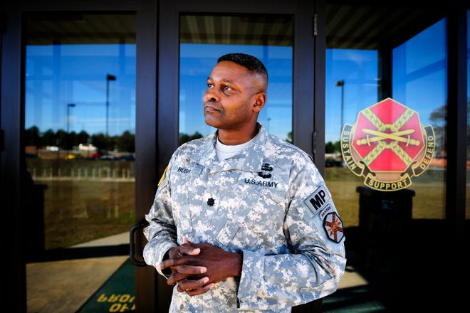 Retired Lt. Col. Hollis Bush served as the director of emergency services at Fort Gordon. Bush was deployed for a combat tour in Afghanistan from 2004 to 2005 and visited detention facilities in the country multiple times between 2008 to 2011 as chief of corrections and interment for the Army.