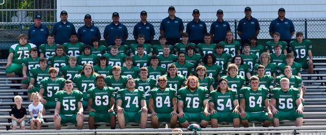Pictured is the Barnesville High School Varsity Football team.