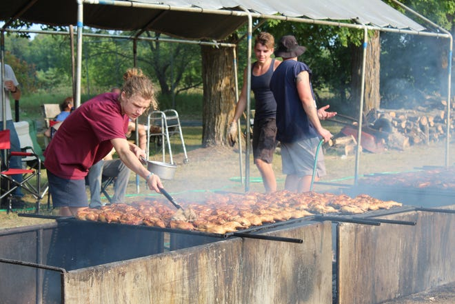 The 100th annual Burt Lake Chicken BBQ will be happening this Thursday afternoon and evening, with some modifications to the event. The menu will be the same as it has been for many years, including chicken roasted over a fire.