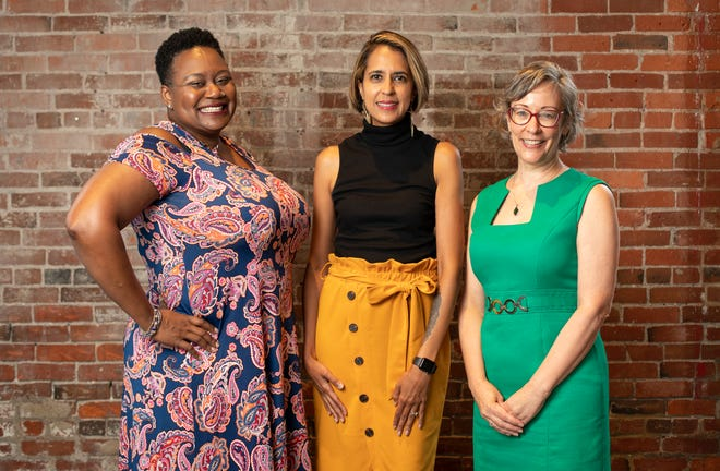 """Women for Economic Leadership and Development is recognizing a new class of """"Women WELDing the Way"""" honorees, including, from left, Lachandra Baker, Lillian Morales and Wendy Sherman Heckler."""