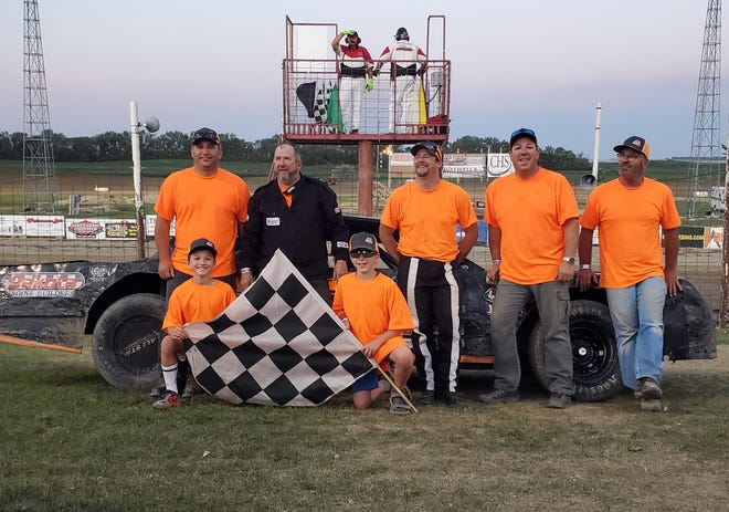 Photos from Devils Lake Speedway victory lane