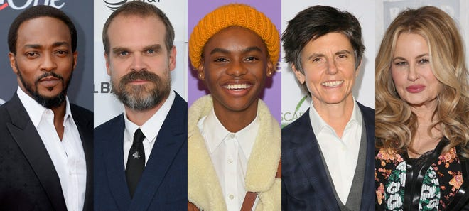 Anthony Mackie, David Harbour, Jahi Di'Allo Winston, Tig Notaro, and Jennifer Coolidge star in the upcoming Netflix movie We Have A Ghost.