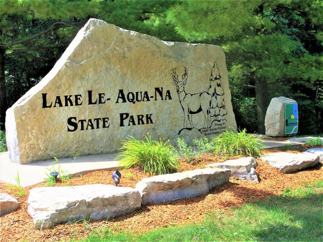 Lake Le-Aqua-Na State Park north of Lena is set to reopen Sept. 1, 2021, after more than a year-and-a-half of renovations.