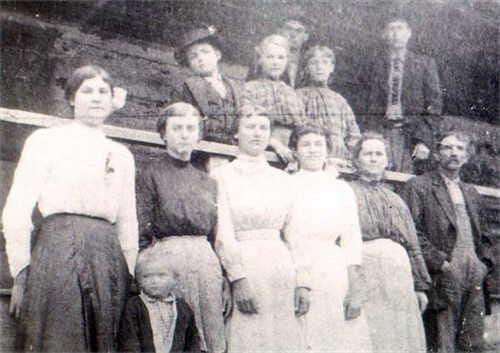 The family of John Wiley Maddox